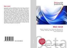 Meir Amit kitap kapağı