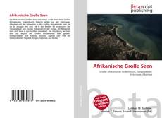 Buchcover von Afrikanische Große Seen