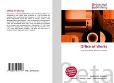 Capa do livro de Office of Works