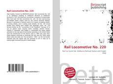 Couverture de Rail Locomotive No. 220