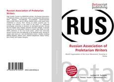 Borítókép a  Russian Association of Proletarian Writers - hoz
