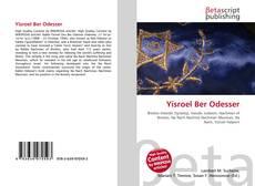 Bookcover of Yisroel Ber Odesser