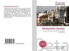 Обложка Afrikanische Literatur