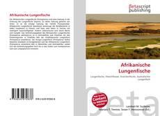 Buchcover von Afrikanische Lungenfische
