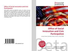 Copertina di Office of Social Innovation and Civic Participation