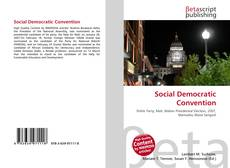 Bookcover of Social Democratic Convention
