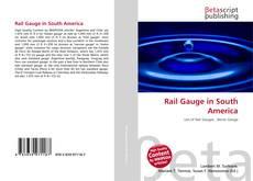 Обложка Rail Gauge in South America