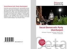 Capa do livro de Social Democratic Party (Azerbaijan)