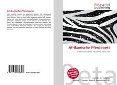 Afrikanische Pferdepest kitap kapağı