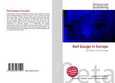 Обложка Rail Gauge in Europe