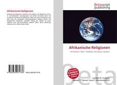 Portada del libro de Afrikanische Religionen