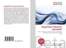 Bookcover of Ragnhildur Steinunn Jónsdóttir