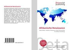 Capa do livro de Afrikanische Renaissance