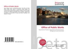 Bookcover of Office of Public Works