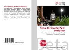 Copertina di Social Democratic Party (Moldova)