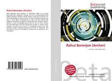 Rahul Banerjee (Archer)的封面