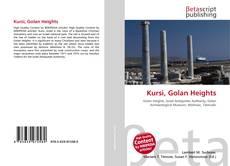 Bookcover of Kursi, Golan Heights