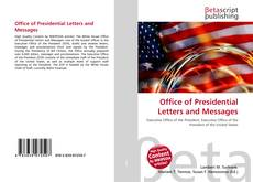 Buchcover von Office of Presidential Letters and Messages
