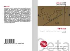 Bookcover of NP-easy