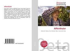 Bookcover of Affenthaler