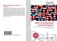 Capa do livro de Office of Independent Inventor Programs