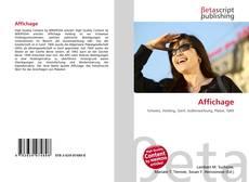 Capa do livro de Affichage