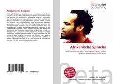 Bookcover of Afrikanische Sprache