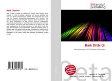 Bookcover of Raik Dittrich