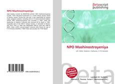 Bookcover of NPO Mashinostroyeniya