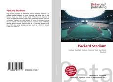 Capa do livro de Packard Stadium