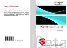 Portada del libro de Packrat (Transformers)