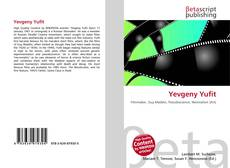 Bookcover of Yevgeny Yufit