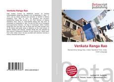 Bookcover of Venkata Ranga Rao