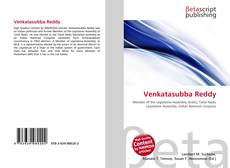 Couverture de Venkatasubba Reddy