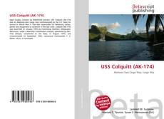 Bookcover of USS Colquitt (AK-174)
