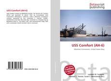 Capa do livro de USS Comfort (AH-6)