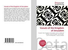 Buchcover von Vassals of the Kingdom of Jerusalem