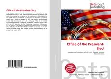 Bookcover of Office of the President-Elect