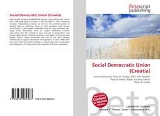 Copertina di Social Democratic Union (Croatia)