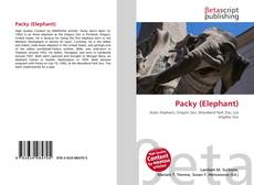 Capa do livro de Packy (Elephant)