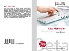 Portada del libro de Paco Menéndez