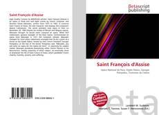 Обложка Saint François d'Assise