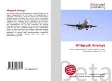 Capa do livro de Afriqiyah Airways