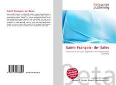 Обложка Saint- François- de- Sales