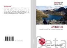 Portada del libro de Afritzer See