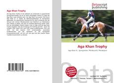 Buchcover von Aga Khan Trophy