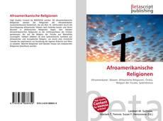 Обложка Afroamerikanische Religionen