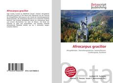 Bookcover of Afrocarpus gracilior