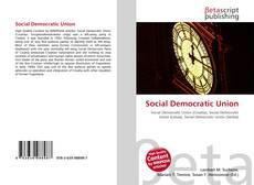 Copertina di Social Democratic Union