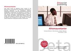 Обложка Afromauretanier